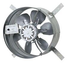 14 in. Window Fan, Single Speed Gable Mount Attic Ventilator Fan W/ Thermostat