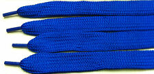 New Fat wide royal blue Break dance B Boys skateboard popping shoe boot lace