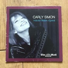 Carly Simon -Never Been Gone CD - MAIL ON SUNDAY PROMO CD - Cardboard Sleeve