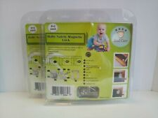 Baby Safety Magnetic Lock Invisible Cabinet Child Kid Proof Latch 16 Locks 4 Mag
