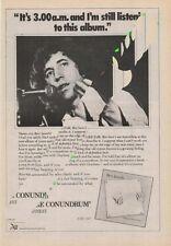 Bert Jansch LP advert ZigZag Clipping 1977