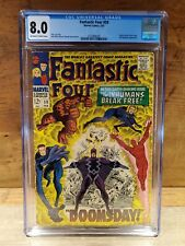 FANTASTIC FOUR #59 (Marvel) CGC Graded 8.0 Very Fine February 1967 Silver Age