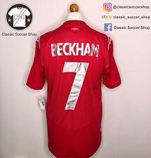 England BECKHAM #7 2004/2006 Away Shirt Extra Large/ XL