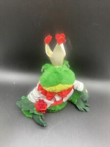 """Vintage Dan Dee Frog Plush Singing And Dancing The Temptations """"Ain't To Proud"""""""