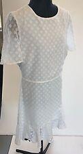 A&H White Dress - Size 14 - BNWT