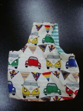 STAND & Craft all'uncinetto Peg Borsa Regalo di Natale VW Camper V-DUB Beetle Foderato