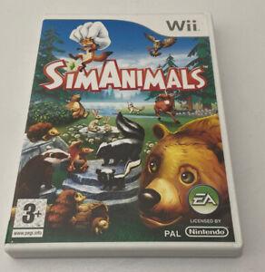 SimAnimals (Nintendo Wii, 2009) - European Version+Manual