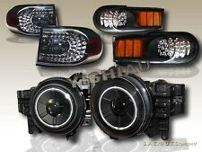 07-14 Toyota FJ Cruiser Projector Headlights + LED Tail Lights + Bumper Lights