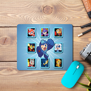 Megaman Chibi Mouse Pad Non-Slip Computer Gaming Laptop PC Boss Dr. Wily New