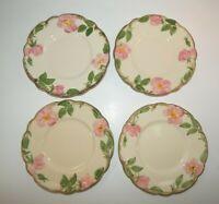 "Franciscan ""DESERT ROSE""  USA ~ Set of 4 ~ Bread Plates ~ 6 1/4"" ~ CA Stamp"