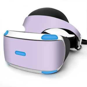 Skin Wrap for Sony Playstation PSVR Headset Solid Lilac, light purple