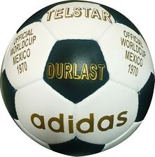 Adidas FIFA World Cup 1970-Matchball Size 5-Soccerball Genuine Leather-Telstar