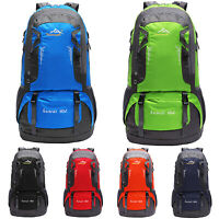 60L Outdoor Camping Travel Rucksack Mountaineering Backpack Hiking Day Bags