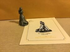 Saturday Evening Post Franklin Mint Pewter Figurine We Gather Together