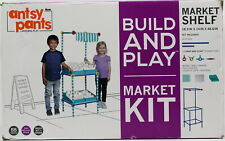 Antsy Pants Kid's Build and Play Market Shelf Grocery Shop 55-Piece Set Ages 4+