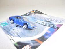 ++ B3799 HONGWELL Cararama 1:72 Porsche 911 996 Carrera blau NEU OVP
