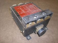 Aircraft Generator Circuit Breaker Control Box *p/n no ID*