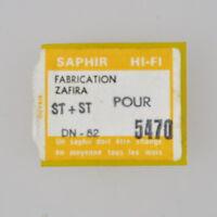 1 x Saphir Plattenspielernadel Zafira 5470 DN-52 ST+ST Ersatznadel Dual CDS 630