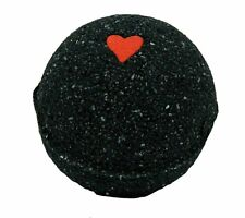 Black Bath Bomb w/Heart 5.7 oz scented w/ Little Black Dress