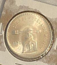 1978 Casa De Moneda Silver One Onza Mexican Mint 1 Troy Oz Silver