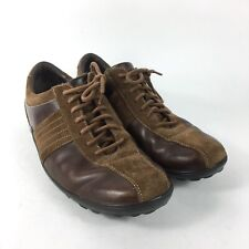 Cole Haan Oxford Bicycle Toe Suede Leather Mens Shoes Sz 11 M Brown C04951