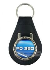 YAMAHA RD 250 LC  MOTORCYCLE  leather  keyring keychain keyfob