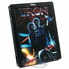 Tron [steelbook] (avec dt. son) [Blu-ray] neuf/sealed/marqué/Embossed