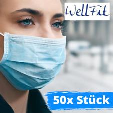 Wellfit - 50 Stück Mund- & Nasenmaske
