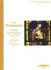Mendelssohn: Andante from Symphony No. 5 for Violin & Piano EP72426