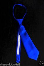 Toddler & Kids 14 Colors SATIN LONG NECK TIE for BOY'S Suit & Tuxedo Size 2T- 14
