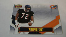 2008 Gridiron Gear # P-46 William Perry Card # 11 of # 500 Chicago Bears box 6