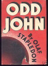 Olaf Stapledon Odd John 1ST AM EDITION IN DJ
