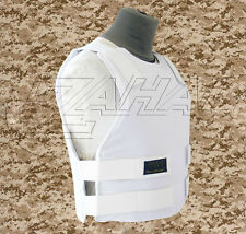 Israeli Light VIP Concealed Body Armor Bullet Proof Vest (XL) - IIIA Protection