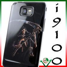 Custodia cover SIGMUNDO per Samsung i9100 GALAXY S2 S II Plus morte teschi i9105