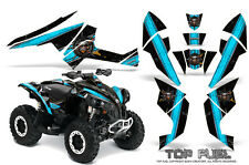 Can-Am Renegade Graphics Kit by CreatorX Decals Stickers TOP FUEL BLUEICE BLACK
