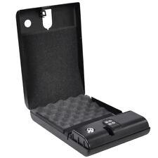Portable Hand Gun Safe Handgun Storage Cabinet Security Box Keypad Pistol Lock
