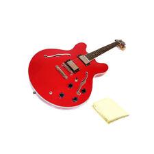 Oscar Schmidt OE30CH Electric Guitar Bundle with Polishing Cloth - Cherry