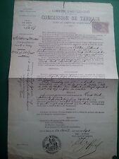 P990. TIMBRES FISCAUX SUR 4 DOCUMENTS
