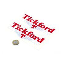 Tickford Sticker Vinyl Decal Car Enthusiast 100mm x2
