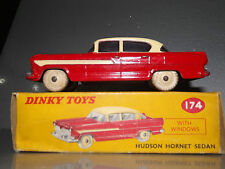 vintage Dinky 174 Hudson Hornet Sedan Near Mint 1958-1963 correct color box
