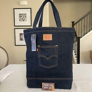 Levi's® Back Pocket Denim Tote Bag 17x16x6