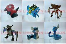 B#137] 6x Pokemon Figures 4-5cm: Porygon Omastar Kabutops Aerodactyl Dratini Dra