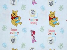 DISNEY WINNIE THE POOH FABRIC POOH CUDDLY BEE TOSS  SPRING CREATIVE  BY THE YARD