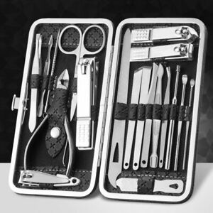 19/16/12/9/8pcs Nail Clipper Set Household Ear Spoon Nail Clippers Manicure Tool
