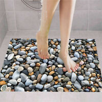 3D Pebbles Bathroom Kitchen Non-slip Floor Sticker Decal Home Decor Proper MA