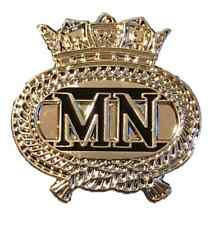 Merchant Navy British Navy Pin Badge - MOD Approved Army Silver Colour Pin Badge
