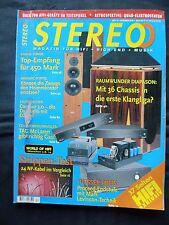STEREO 12/98 MISSION aCA 7,aPA 7,PROCEED HPA 2,DYNAUDIO CONTOUR3.0,SHAHINIAN DIA