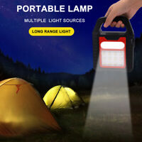 LED Solar Flood Light Portable Rechargeable Outdoor Garden Work Spot Lamp