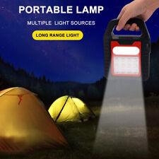 LED Solar Flood Light Portable Rechargeable Outdoor Garden Work Spot Lamp