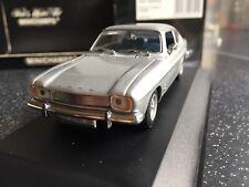 Rare Minichamps 1:43 430 085500 Ford Capri Mkl 1700 1969, Silver, Superb!